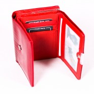 Dámska kožená peňaženka Jennifer Jones Sofiya DP009 červená