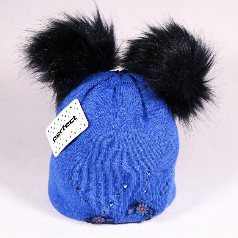 Zimná detská čiapka Alexis ZCDE004 modra