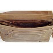 Taška pánska kožená Green wood Roberto L gw837