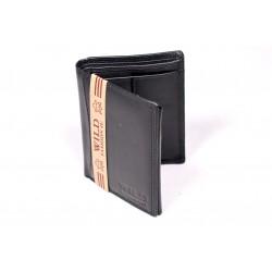 Pánska kožená peňaženka Wild Himanshu PKP024 čierna