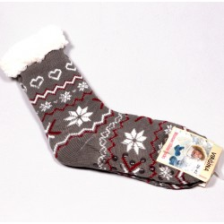Dámske thermo domáce ponožky Virgina DTDP045 šedá