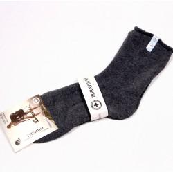 Dámské thermo bavlněné ponožky Pesail DTBP042 tmavo šddá