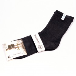 Dámské thermo bavlněné ponožky Pesail DTBP040 čierna
