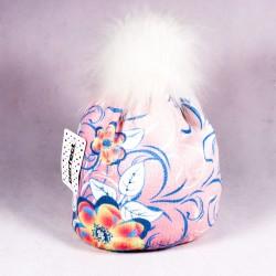 Zimná detská čiapka Isla ZCDE003 ružová